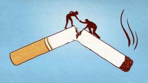 کمک به ترک سیگار