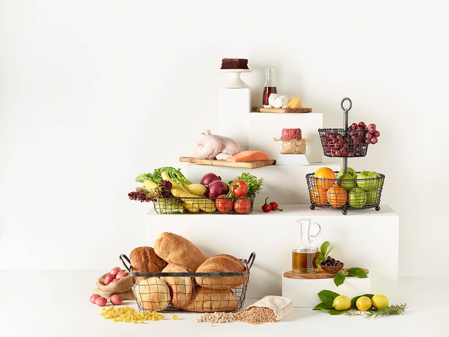 رعایت هرم غذایی