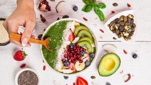 مصرف عذای حاوی ویتامین گروه ب و ث